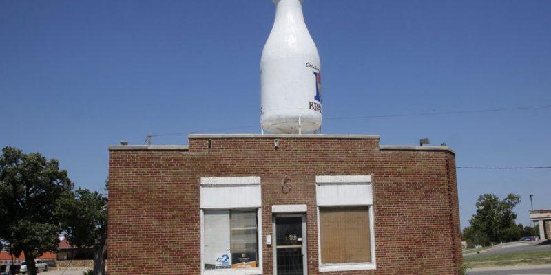 Milk Bottle Grocery, Oklahoma City, Oklahoma, USA