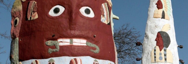Ed Galloway's Totem Pole Park, Foyil, Oklahoma, USA