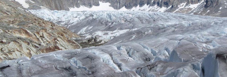 Rhône Glacier, Oberwald, Switzerland
