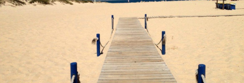 Praia da Ilha de Tavira, Portugal