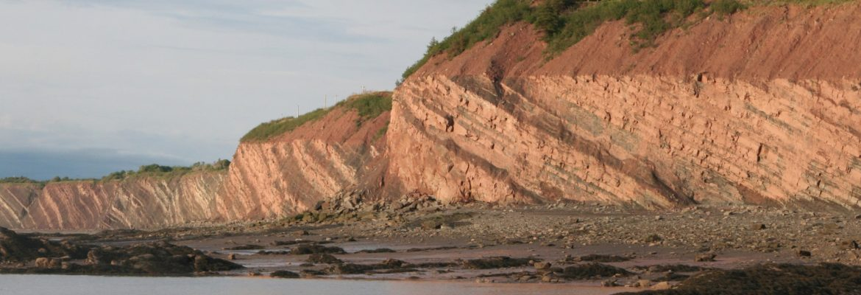 Joggins Fossil Cliffs, Unesco,NS, Canada