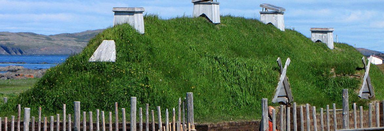 L'Anse aux Meadows National Historic Unesco Site,N, Canada