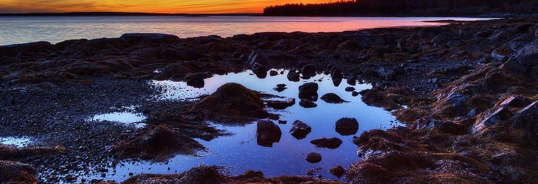 Seal Cove Village, NB, Canada