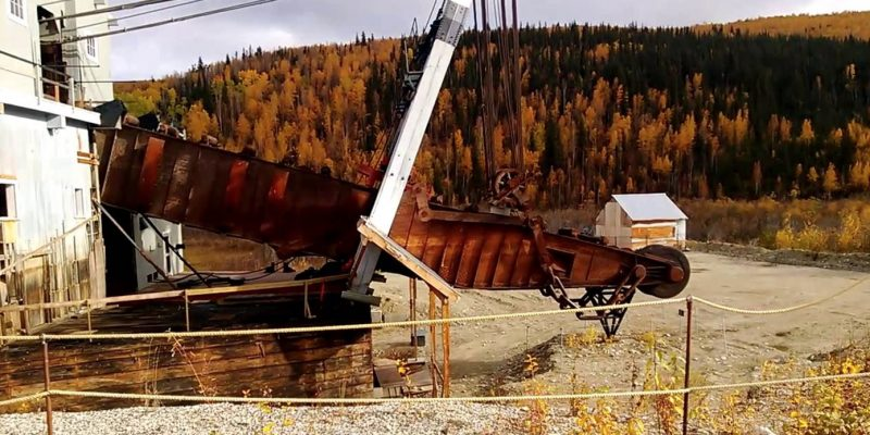 Bonanza Creek,Dawson, YT, Canada