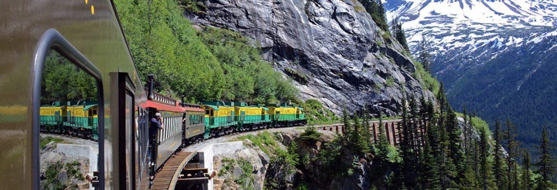 Whitehorse Pass Yukon to Skagway, AK Railway line