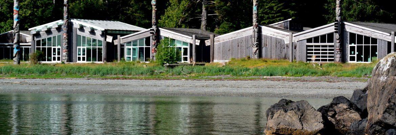 Haida Heritage Centre,Skidegate, BC, Canada