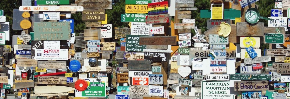 Sign Post Forrest, Watson Lake, Canada