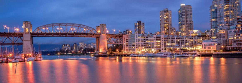 Burrard Bridge,Vancouver, BC, Canada