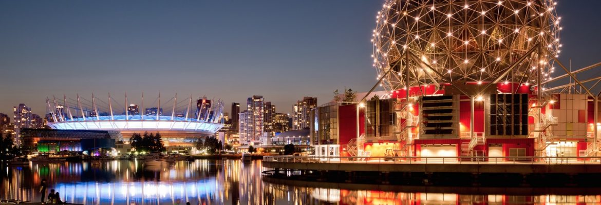 Science World at TELUS World of Science,Vancouver, BC, Canada