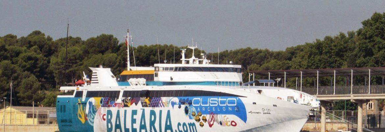 Ferry Palma   Barcelona Spain