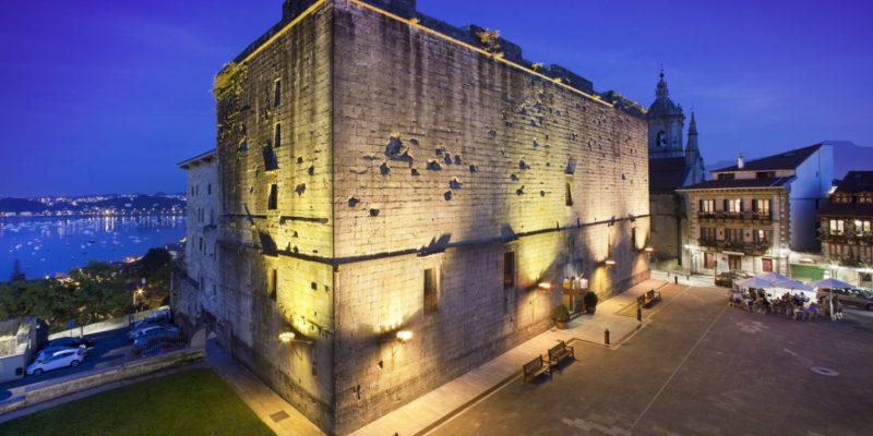 Castle Parador de Hondarribia,Gipuzkoa, Spain