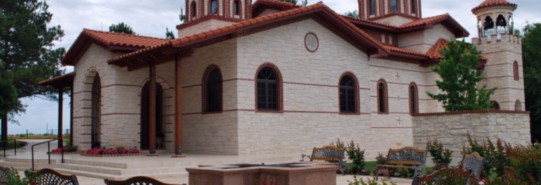 Convent of Agia Paraskevi,Monodendri, Greece
