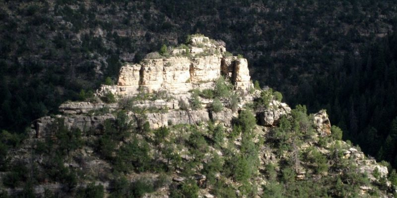 Walnut Canyon National Monument, Flagstaff,Arizona, USA