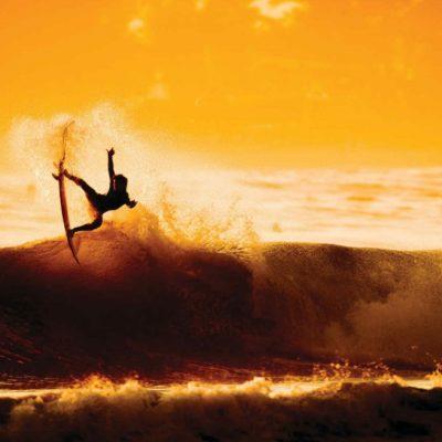 Surfing, Newport Beach, California, USA