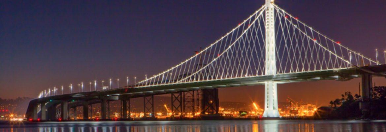 San Francisco Oakland Bay Bridge,California, USA