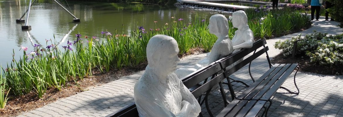 The Sydney and Walda Besthoff Sculpture Garden, New Orleans, Louisiana, USA