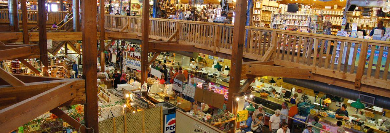 St. Jacobs Farmers' Market & Flea Market,Woolwich, Canada