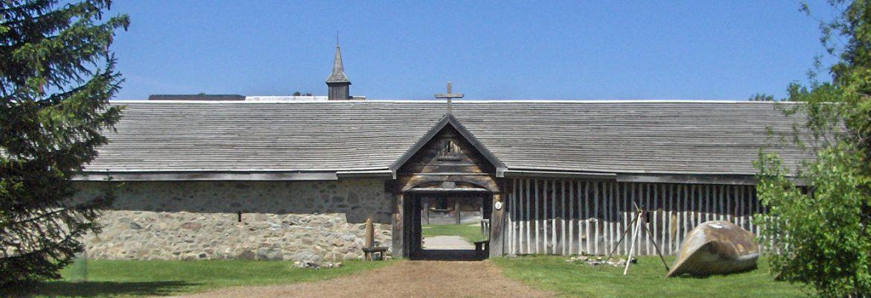 Sainte-Marie among the Hurons,Midland, Canada