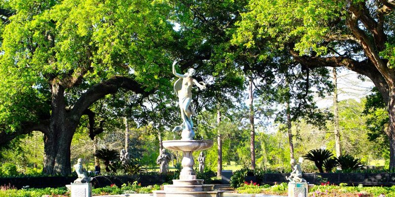 Audubon Park, New Orleans,Louisiana, USA