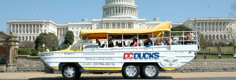 DC Duck Tours, Washington, DC. USA