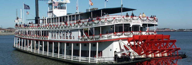 Steamboat Natchez Jazz Dinner Cruise,New Orleans, Louisiana, USA