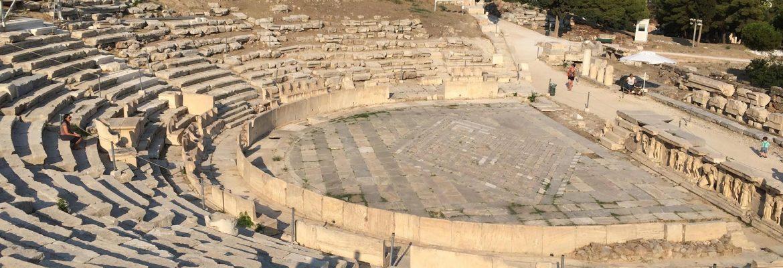 Theatre of Dionysus, Athens, Greece