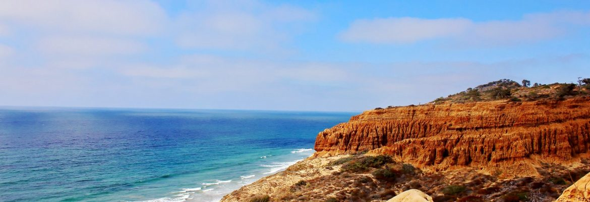 Torrey Pines State Natural Reserve, San Diego, California, USA