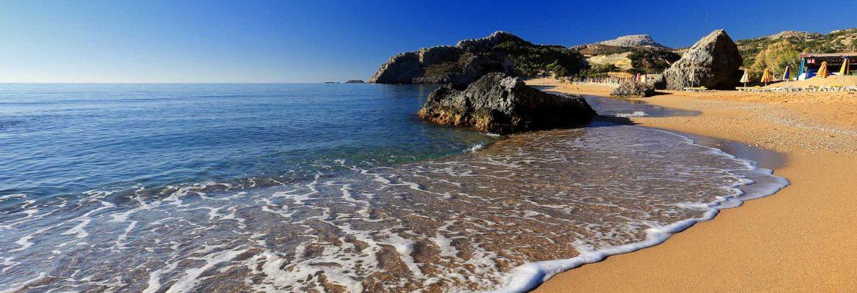 Tsambika Beach,Archangelos, Greece