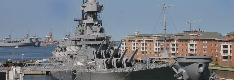 USS Wisconsin BB-64,Norfolk, Virginia, USA