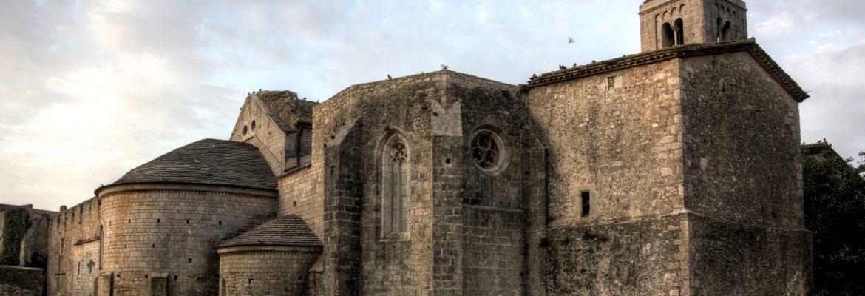 Santa Maria de Vilabertran,Girona, Spain