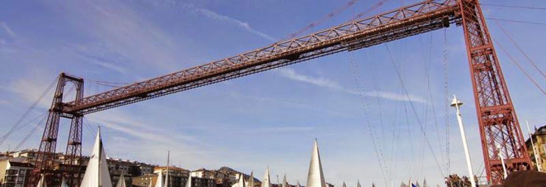 Vizcaya Bridge, Unesco Site,Bizkaia, Spain