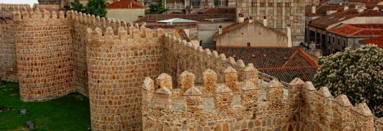 The Walls of Ávila, Unesco Site, Ávila, Spain
