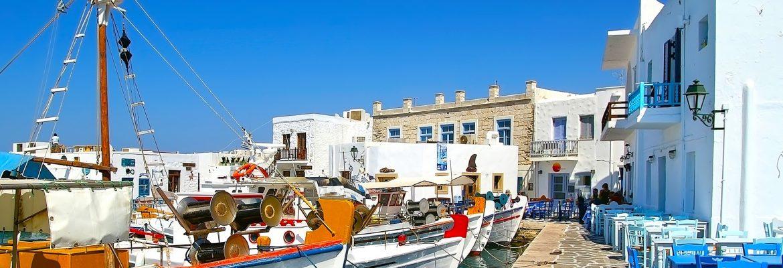 Old Port of Naoussa,Naousa, Greece