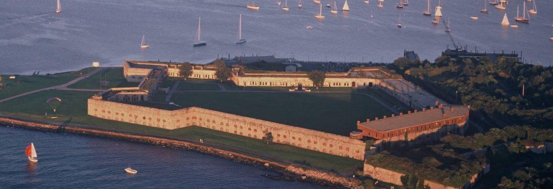Fort Adams Pt State Park,Newport, Rhode Island, USA
