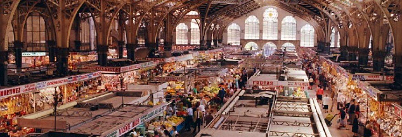 The Central Market of Valencia,Valencia, Spain