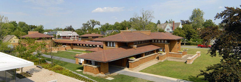 Frank Lloyd Wright's Darwin D. Martin House Complex, Buffalo, New York, USA