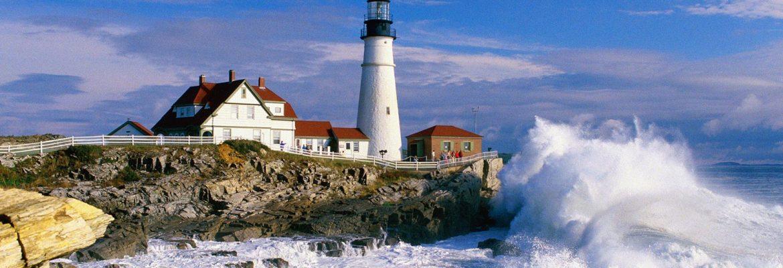 Portland Head Light,Cape Elizabeth, Maine, USA