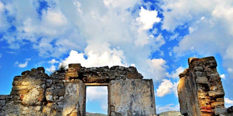 Parga Town,Parga Castle, Greece
