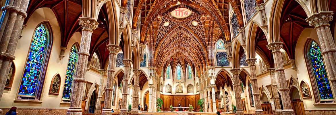 Holy Name Cathedral, Chicago, Illinois, USA