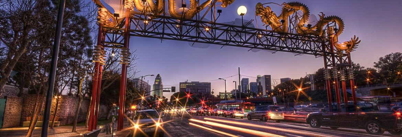 China Town, Los Angeles,California, USA