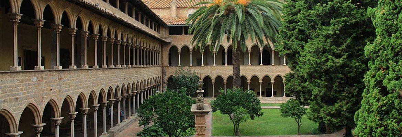 Monasterio de Pedralbes, Barcelona, Spain