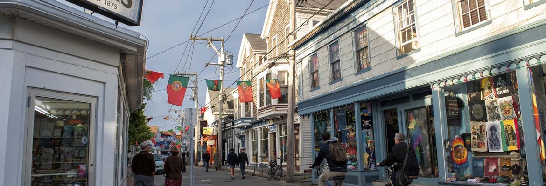 Commercial Street, Provincetown,Massachusetts, USA
