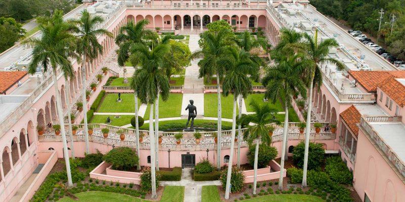 The John and Mable Ringling Museum of Art,Sarasota,Florida, USA
