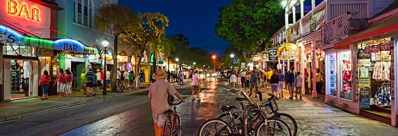 Duval Street,Key West,Florida, USA