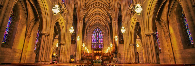 Duke University Chapel, Durham,North Carolina, USA