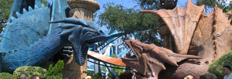 Universal's Islands of Adventure,Orlando,Florida, USA