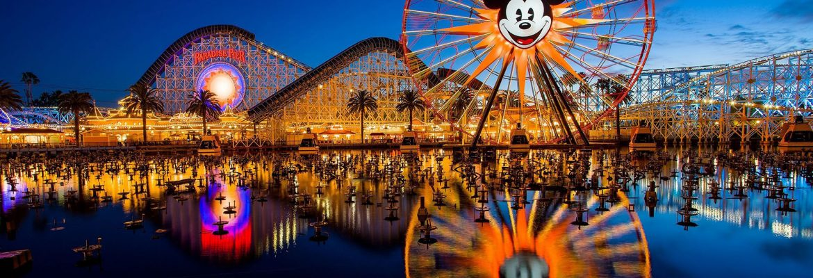 Disney California Adventure Park, Anaheim, California, USA