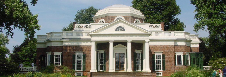 Thomas Jefferson's Monticello, Charlottesville, Virginia, USA