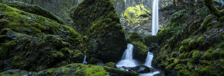 Columbia River Gorge National Scenic Area,Cascade Locks,Oregon, USA
