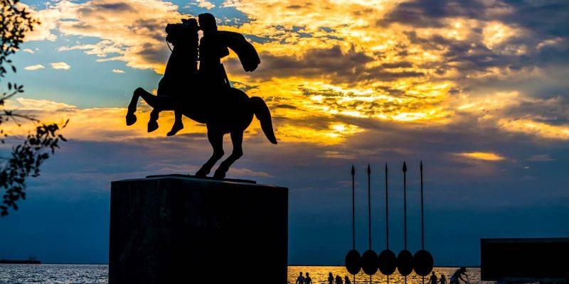 Alexander the Great Statue,Thessaloniki, Greece
